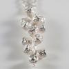 Silver drop eucalyptus necklace by Teague