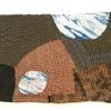 Densely stitched textile collage suggesting vast empty landscape found during travels in New Mexico