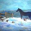 Snow on Dartmoor - Mary Ann Day
