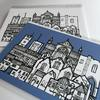 St Albans landmarks, limited edition fine art prints plus blank greetings cards