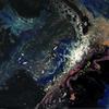 'Starry Night'  Mixed Media on Board  60x42cm