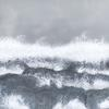 Stormy Day 60cmx60cm - A multilayered resin and mixed media seascape