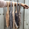 Crochet String Shopping Bags - Millie - 100% Bamboo or Cotton - handmade, various colours