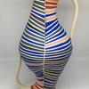 Re-imagined amphora with climate change stripes - see my website for details