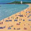 Summer, Acrylic on Canvas, 45.5 x 61 cm