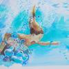 Sarah Gidden Sketchbook study of a swimmer 2020