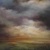 The Coming Storm. Acrylic on Canvas. Toying with Colour. Let There be Light