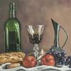 The French Way -Original oil painting by Sabbi Gavrailov | Fine Art | 2021
