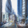 The Working Hour, acrylic on canvas, 61cm x 90cm, nfs