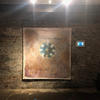 'The Tower' Oil on canvas and Video Installation at The Crypt Gallery London