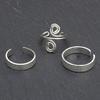 Sterling silver toe rings
