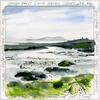 Towards Ballinskelligs Priory - watercolour by Sue Wookey