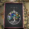 """Tree of Life"" Real Silver Wirework Pendant by Artist Loren"