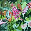 Tropical Flowering 1, Acrylic