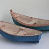 Two Blue Boats Ceramic Amanda Toms