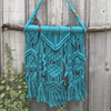 Macrame Wall Hanging - Leilani - handmade, Colour: Turquoise