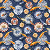 Fishes and Dishe  Wallsauce competition winning pattern
