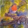 'Watchful' Watercolour