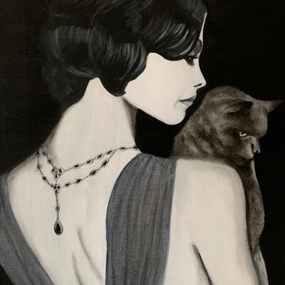 'Selina' Oil on Canvas