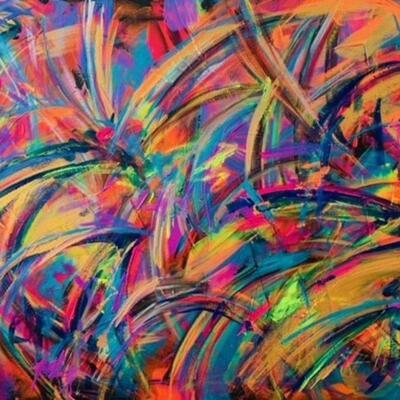 'Waves' 60 x 91 Acrylic on Canvas