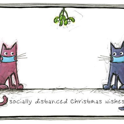 Socially distanced Christmas wishes