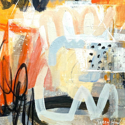 Bee Hotels _ Mixed Media on Paper