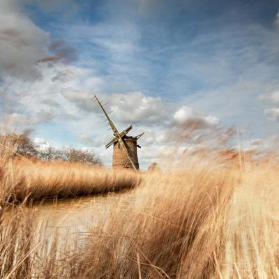 Brograve Mill, Norfolk...slow exposure shot also using Lee filters & a polariser.