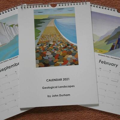 2021 Geological Landscapes Calendars