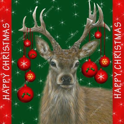 Jo Chesney 2020 Christmas Card Design - 1 of 4