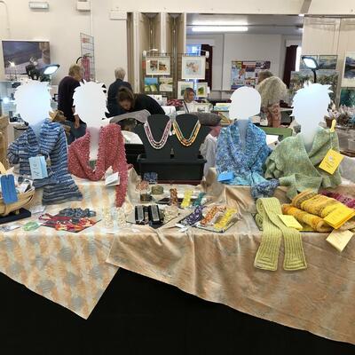 Craft Fair table-top display