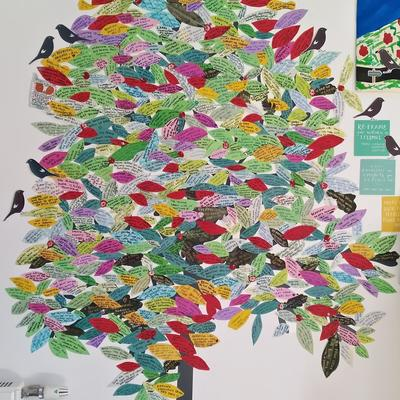 Gratitude tree started March 2020