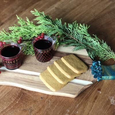 Resin Art Wooden Serving Platters