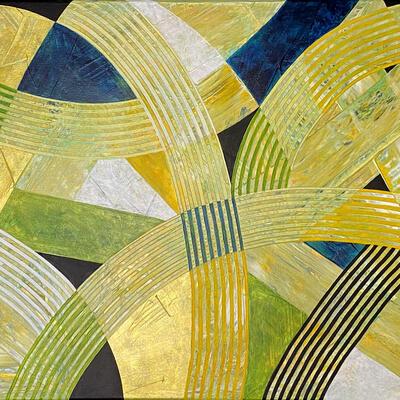 'Pathways II'  Acrylic on Canvas 84 x 60cm
