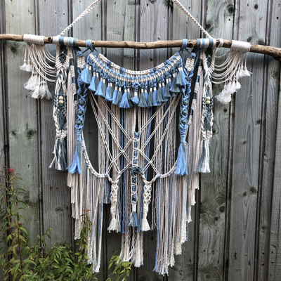 Macrame Wall Hanging - Ivy - handmade, made to order or available ready made on my website.