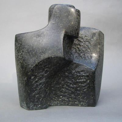 'Whispers'  Soapstone Carving by John Brown