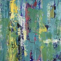 New Horizons, 2020, 60 x 60cm, Mixed media