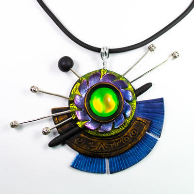 Constellation  Pendant by Iryna Griffith