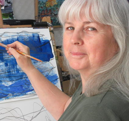 Ann Marie Whitton at work