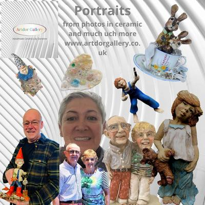Dorienne with some of her garden/home & quirky portaits from your photos