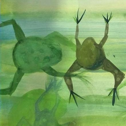 Dacorum Young Artists Frogs