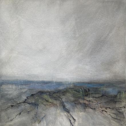Inês Freitas abstract landscape paintings