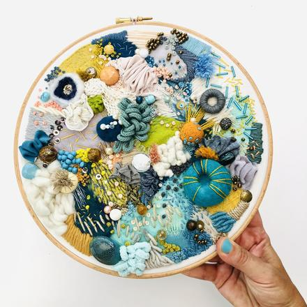 'Coraline' - Contemporary Embroidery