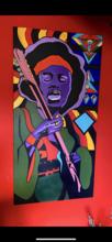 Jimi Hendrix acrylic on canvas
