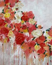 Summer Bouquet, Acrylic on Canvas, 50x70cm
