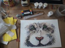 Learn how to paint this snow leopard plus other animals too!