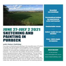 Sketching and Painting in Purbeck with Helen Halliday June 27 - July 2 2021