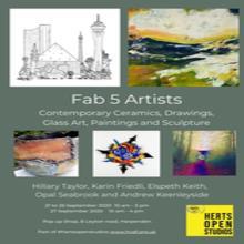 Fab 5 art exhibition