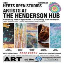 Hertfordshire Open Studios exhibition by 5 local artists.