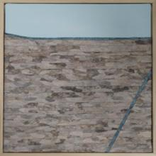 Marian Hall - All that is seen and unseen. Textile art inspired by the salt flats in the Atacama desert.
